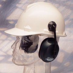 Protector Helmet Mounted Ear Muffs, higher noise