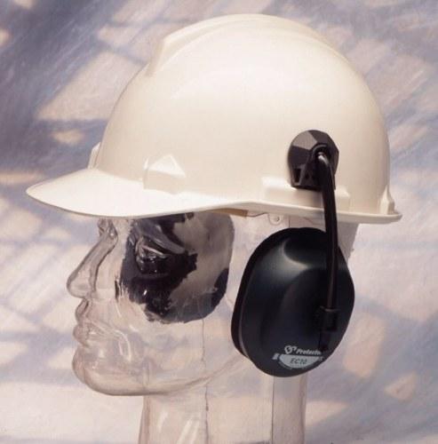 Protector Helmet Mounted Ear Muffs, higher noise