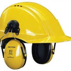 Peltor Optime III Helmet Mounted Ear Muffs