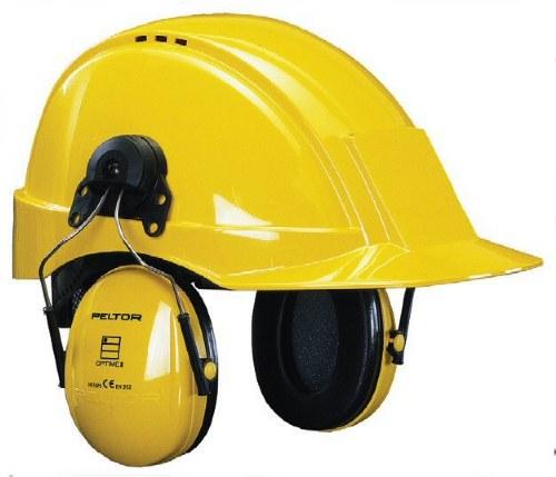 Peltor Optime III Helmet Mounted Ear Muffs
