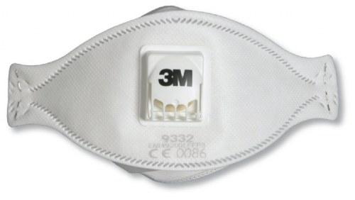9332 Aura Ffp3 Mask Disposable 3m